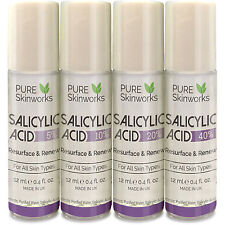 SALICYLIC ACID BHA SKIN PEEL 5% 10% 20% ACNE TREATMENT SCARS BLACKHEADS
