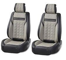 eleganter Autositzbezug Sitzbezüge Schonbezüge Schonbezug aus Kunstleder Grau