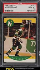 1990 Pro Set Hockey Mike Modano ROOKIE RC #142 PSA 10 GEM MINT
