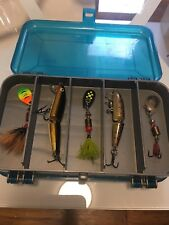 New Lures and Plano 3213 Mini Magnum Double Sided Tackle Storage Box 13 Compart