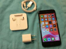 Nice Apple iPhone 7 Black - 128GB - (Verizon) model A1660 Unlocked Factory Reset