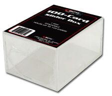 BCW plastique encadré pour 100 cartes Deck box, 2 pièces