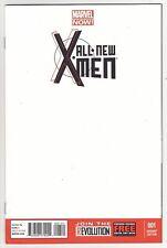 ALL-NEW X-MEN #1 Marvel Comics Brian Michael Bendis Uncanny BLANK VARIANT COVER!