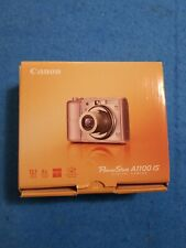 CANON PowerShot A1100 IS 12.1MP Digital Camera PINK Excellent Bundle Tested