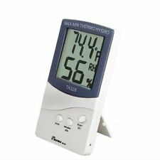 Digital Temperature Humidity Meter Hygrometer. Thermometer, white,TA328