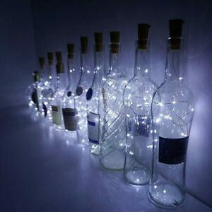 LED Wine bottle Cork with 3M 30 Lights on a String Bottle Battery Operated AG13
