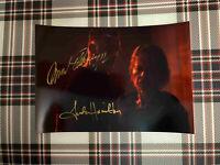 📸 Arnold Schwarzenegger Linda Hamilton Terminator signed photo 6x8 inch coa