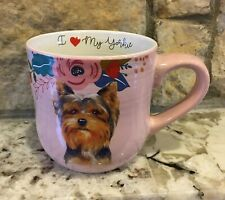 I Love My Yorkie Coffee Tea Hot Cocoa Cup Mug Large 16 ounces New