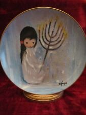 FESTIVAL OF LIGHTS collector plate TED DeGRAZIA Christmas Holidays