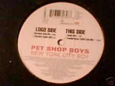 "PET SHOP BOYS New York city boys 12"" ITALY RARISSIMO"