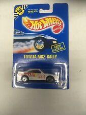 Hot Wheels Toyota MR 2 Rally Car