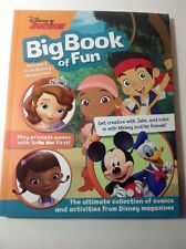 Disney Junior Big Book Of Fun Comics & Activities Doc McStuffins Sofia the First