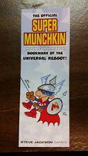 Super Munchkin Promo Bookmark Of The Universal Reboot! SJ Games Baltizar Art