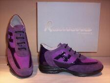 Scarpe sportive sneakers Ramona donna shoes women casual pelle camoscio viola 36