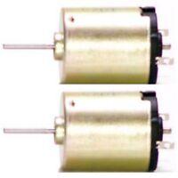 2er-Pack 12V Mini Motor Minimotor Kleinmotor Elektromotor Modellbau Gleichstrom