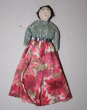 Native American Navajo Female - hand made cloth Dolls - 1940-50s