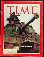 TIME MAGAZINE  August 30 1968 - Russian Invasion of CZECHOSLOVAKIA / USSR Soviet