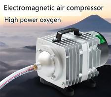 External E-magnetic Air Pump Fish Pond Oxygen Pump 220V Compressor For Pond Air