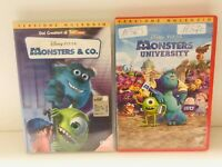 Monsters & Co + Monsters University (2 DVD) Usato ex noleggio - ITALIANO