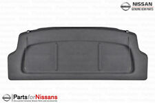 Genuine Nissan 2014-2018 Versa Note Black Rear Cargo Trunk Cover NEW OEM