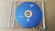 Dreamon Collection 2-disco de demostración para SEGA Dreamcast-Versión PAL Reino Unido