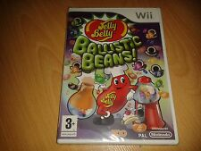 NEW & SEALED - JELLY BELLY BALLISTIC BEANS - NINTENDO WII