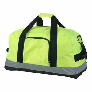 Shugon Seattle Work Holdall Hi Vis High Viz Bag Base Board + Studs Big (SH2518)