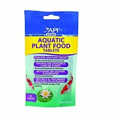 API POND PLANT FOOD TABS 25 TAB AQUATIC POTTED PLANT FERTILIZER. FREE SHIP USA