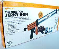 Weston Original Jerky Gun in Orig Box - Make Homemade Jerky