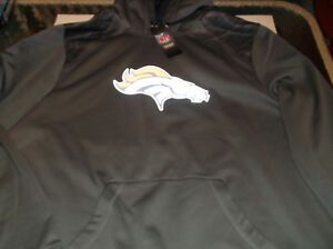 Denver Broncos  NFL Team Thermabase Hoodie by Majestic L Reflective Logo
