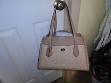 NWT Coach 98576 Signature LORA Sand Taupe Carry All  Tote $395