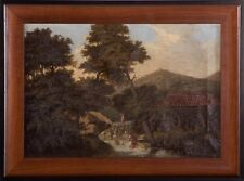 Malheim (American, 19th Century) Framed Signed Luminist Oil Painting, circa.1877