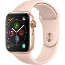 Apple Watch Series 4 40mm Silver Aluminum Case White Sport Band Watch - (MTVA2X/A)