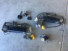 BMW E34 Lock and Key Set. Ignition, Doors, Trunk, 2 keys. 1992 525i, 535i