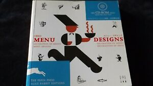 Menu designs  con CD Rom, Agile Rabbit   2005