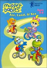 BRAND NEW SEALED Muppet Babies Air, Land & Sea CD-ROM Mac and Windows SOFTCASE