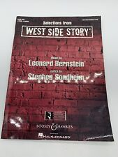 Selections from West Side Story Sheet Music Piano Duet Hal Leonard