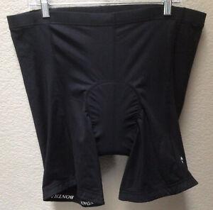 Bontrager Solstice Padded Cycling Shorts Mens Black Size 2XL XXL