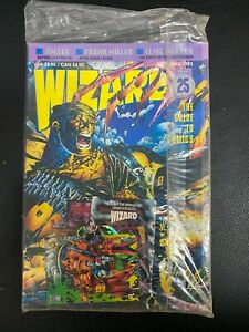 WIZARD MAGAZINE #25 NM-MT SEP 1993 JIM LEE DEATHBLOW COVER FACTORY SEALED