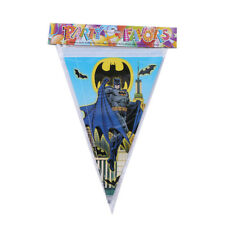 Batman Super Hero Banner Bunting Flag Happy Birthday 2.5 Meter