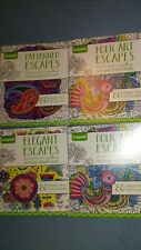 Lot Of 4 Crayola Adult Coloring Books