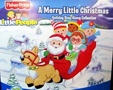 Little People: A Merry Little Christmas NEW! 2 CD,Jingle Bell Rock Fisher Price