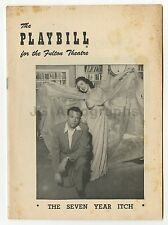 The Seven Year Itch - Vintage Playbill - Fulton Theatre, New York, 1953