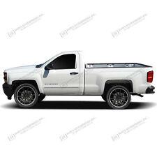 For: SILVERADO 3500 REG CAB; Body Side Mouldings Moldings CHROME ABS 2014-2018