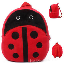 Ladybug Kids Plush PreSchool Backpack Toddlers Baby Bag