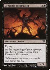 Mtg 4x Demonic Taskmaster-Avacyn restored * fly Demon *