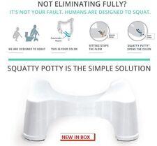 Squatty Potty Ecco Toilet Stool, White, 9 Inch NEW - FREE SHIPPING