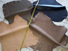 LEDER TIP 29716-H, Lederreste, 4-Lederhäute-Konvolut, verschiedene Farben nappa