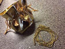 Aleksander Sternen Kette (Murano Star), HSE24, 925er Silber gelbvergoldet