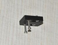 Adapter / Slider / Mounting Bracket for Lenco L70 Headshell - Ebony Wood - NEW